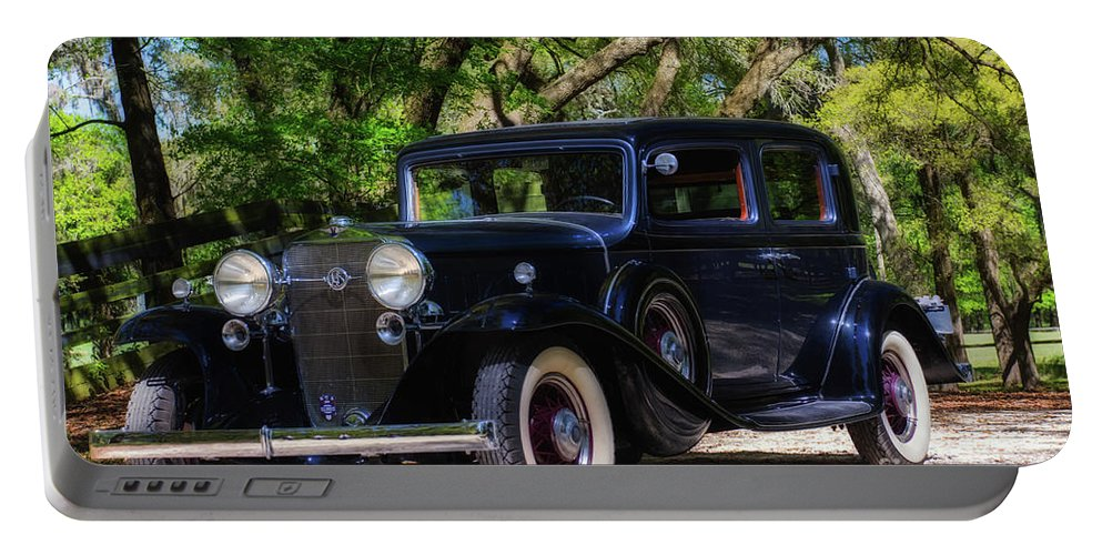 Cadillac Portable Battery Charger featuring the photograph Ls1 by Francine Hall