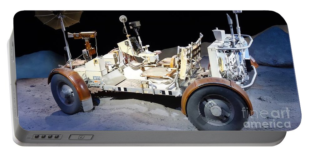 Lunar Rover Portable Battery Charger featuring the photograph Lunar Rover by Anthony Schafer
