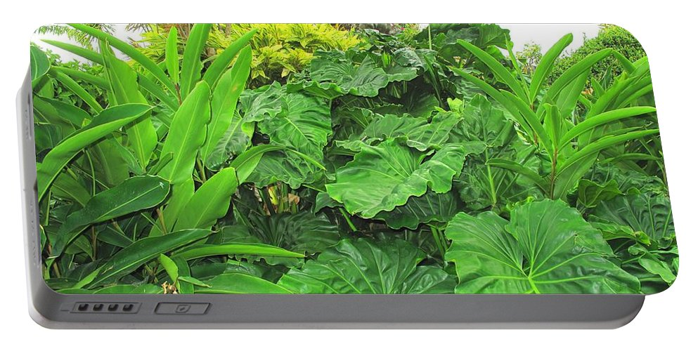 Vegetation Portable Battery Charger featuring the photograph Lust Too by Ian MacDonald