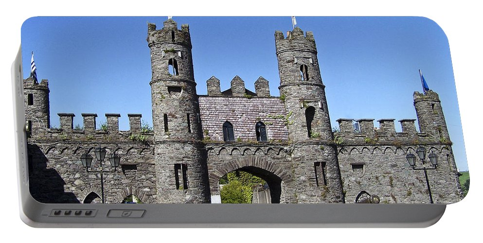 Irish Portable Battery Charger featuring the photograph Macroom Castle Ireland by Teresa Mucha