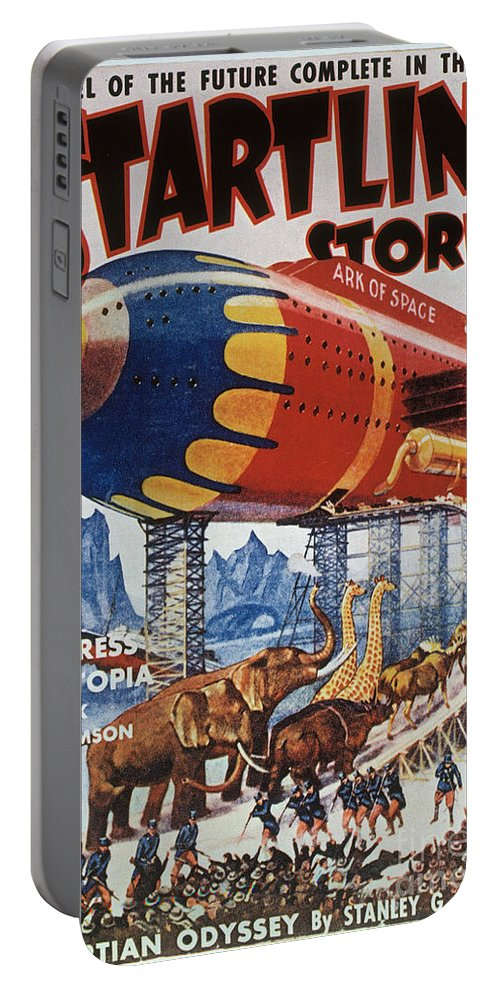 1939 Portable Battery Charger featuring the photograph Magazine Cover, 1939 by Granger