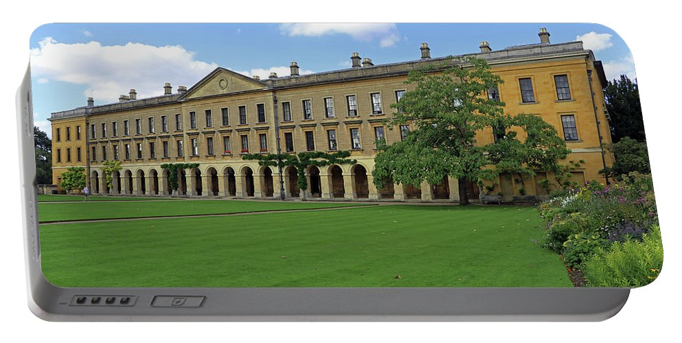 Magdalen New Building Portable Battery Charger featuring the photograph Magdalen New Building by Tony Murtagh