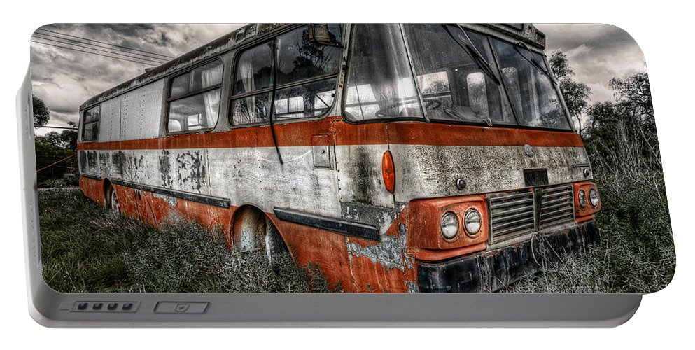 Bus Portable Battery Charger featuring the photograph Magic Bus by Wayne Sherriff