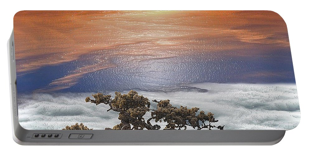 Landscape Portable Battery Charger featuring the photograph Magic Tree by Scott Mendell