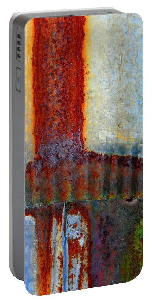 Skip Hunt Portable Battery Charger featuring the photograph Magma by Skip Hunt