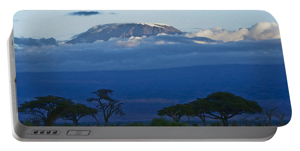 Africa Portable Battery Charger featuring the photograph Magnificent Kilimanjaro by Michele Burgess