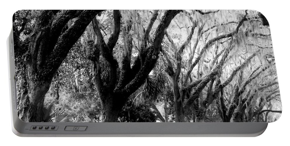 Amar Sheow Fine Art Photography Portable Battery Charger featuring the photograph Magnolia Ave by Amar Sheow