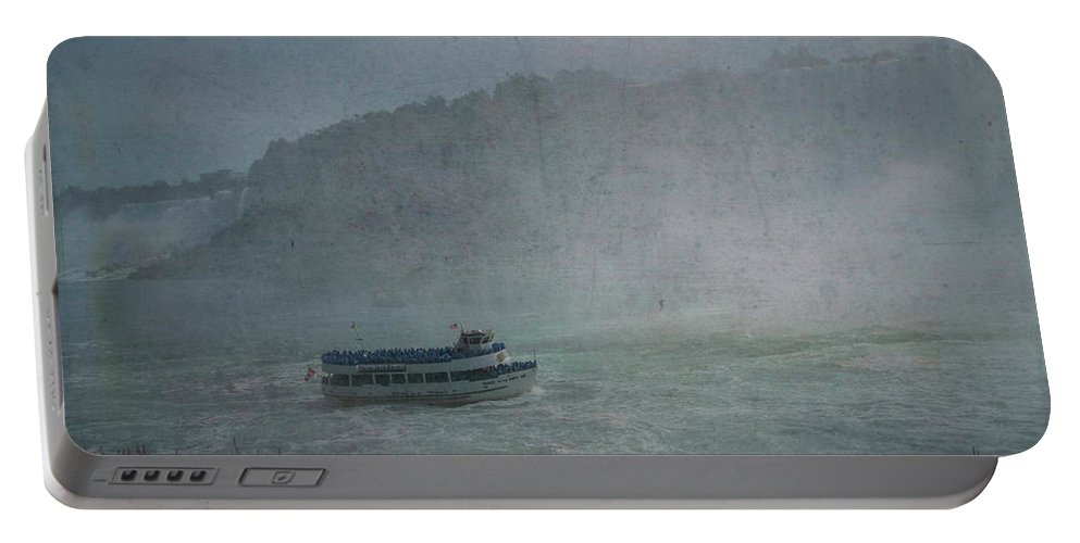 Maid Of The Mist Portable Battery Charger featuring the photograph Maid Of The Mist by Luther Fine Art