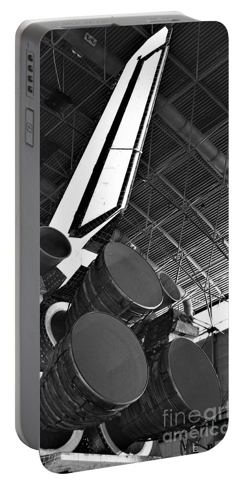 Main Engines Portable Battery Charger featuring the photograph Main Engines by Patti Whitten
