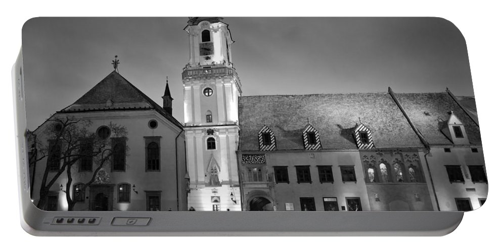 Bratislava Portable Battery Charger featuring the photograph Main Square by Milan Gonda