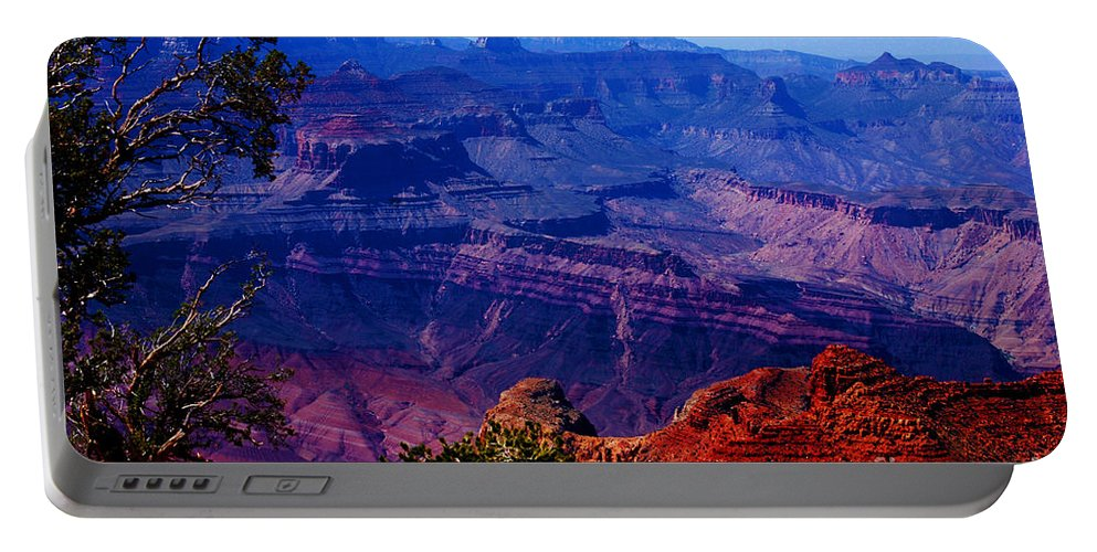 Majestic Portable Battery Charger featuring the photograph Majestic Grand Canyon by Susanne Van Hulst
