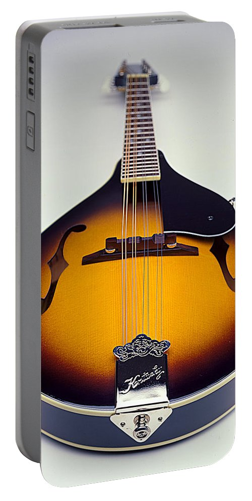 Mandolin Portable Battery Charger featuring the photograph Mandolin by Robert Ponzoni