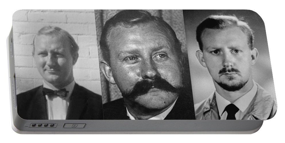 Many Faces Of Assassin John Dane 2     Portable Battery Charger featuring the photograph Many Faces Of Assassin John Dane 2     by David Lee Guss