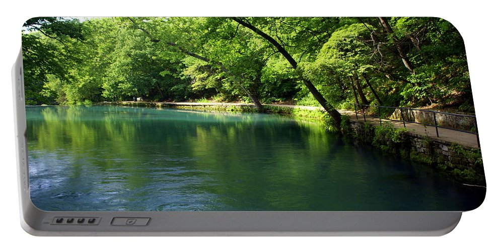 Maramec Springs Park Portable Battery Charger featuring the photograph Maramec Springs 4 by Marty Koch