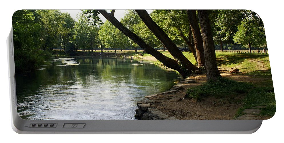 Maramec Springs Park Portable Battery Charger featuring the photograph Maramec Springs 5 by Marty Koch