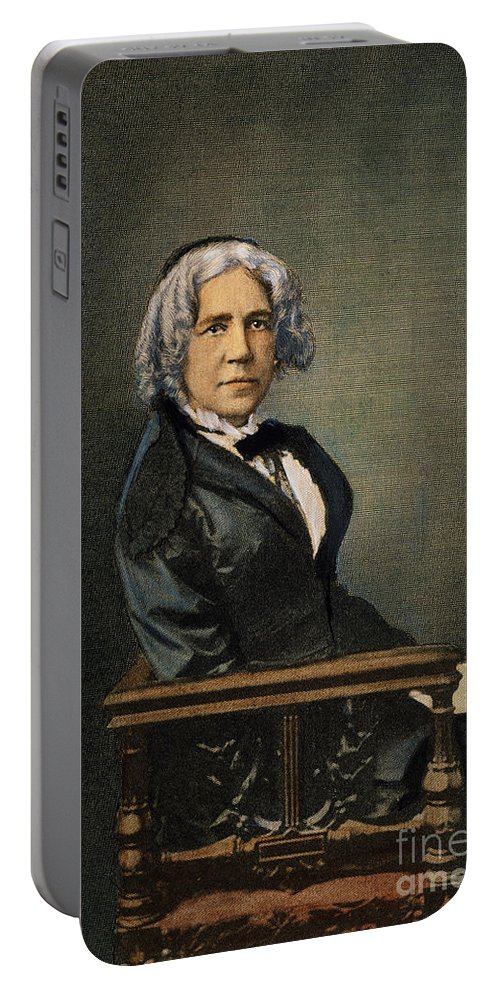 19th Century Portable Battery Charger featuring the photograph Maria Mitchell (1818-1889) by Granger