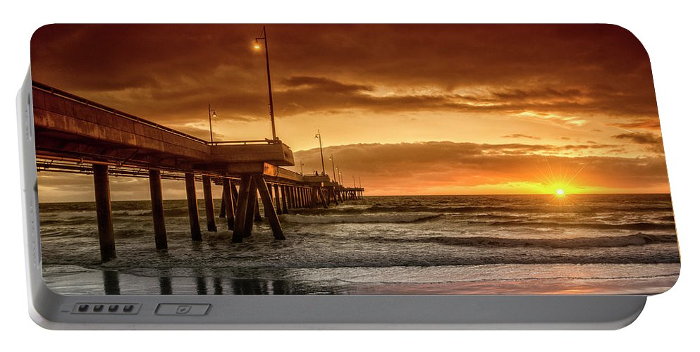 Portable Battery Charger featuring the photograph Marina Del Rey by Gabriel Jardim