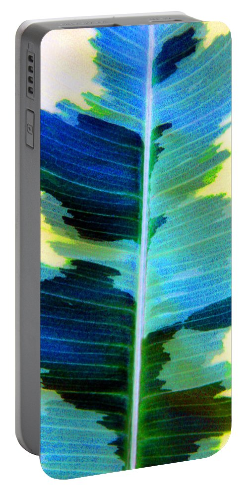 Leaf Portable Battery Charger featuring the photograph Marine by Carolyn Stagger Cokley