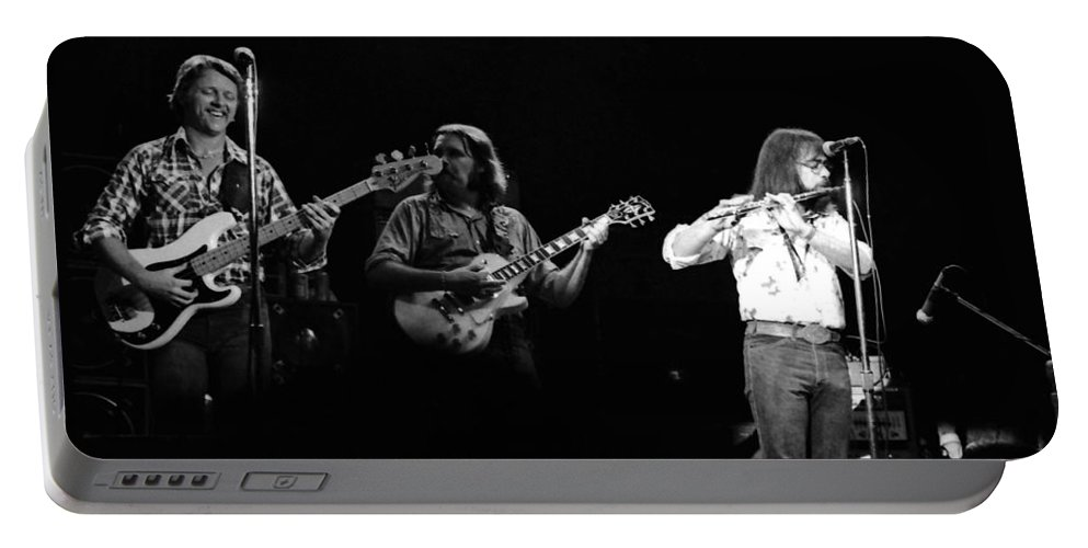 Marshall Tucker Portable Battery Charger featuring the photograph Marshall Tucker Winterland 1975 #7 by Ben Upham