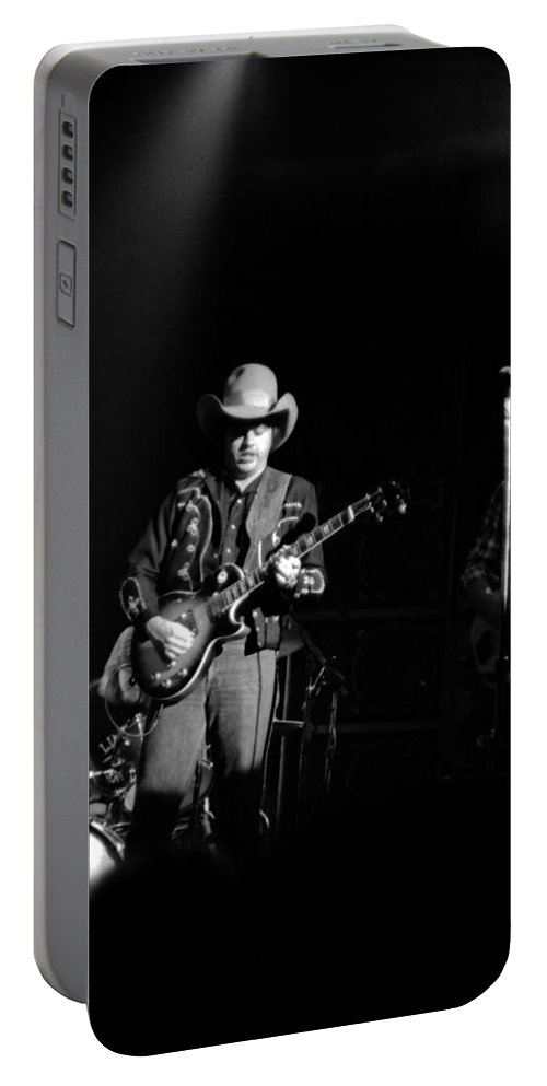 Marshall Tucker Portable Battery Charger featuring the photograph Marshall Tucker Winterland 1975 #9 by Ben Upham