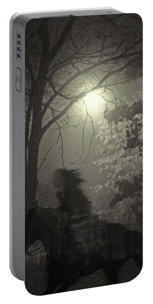 Landscape Portable Battery Charger featuring the photograph Martha by Steve Karol