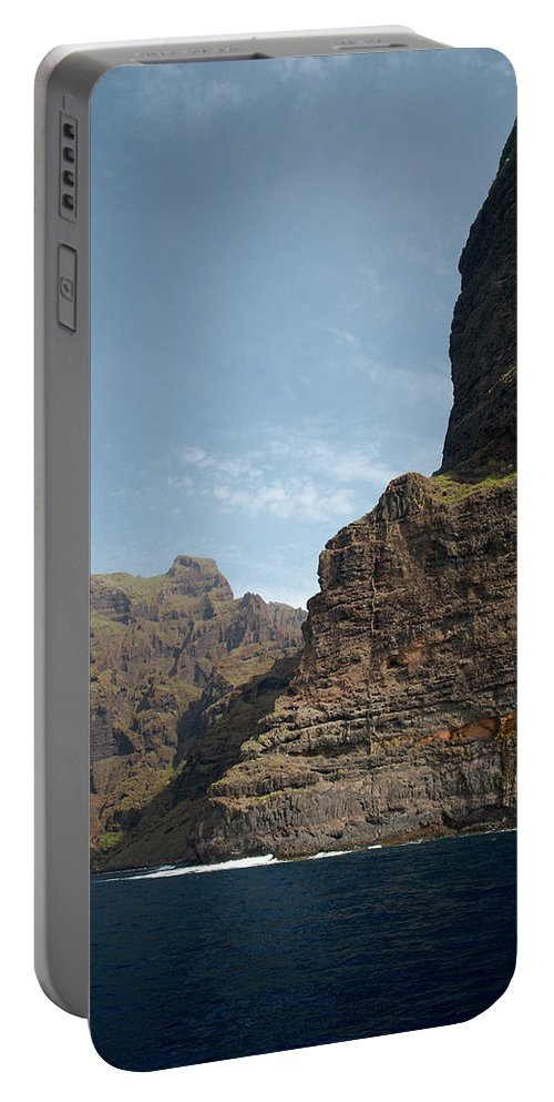Valasretki Portable Battery Charger featuring the photograph Masca Valley Entrance 1 by Jouko Lehto