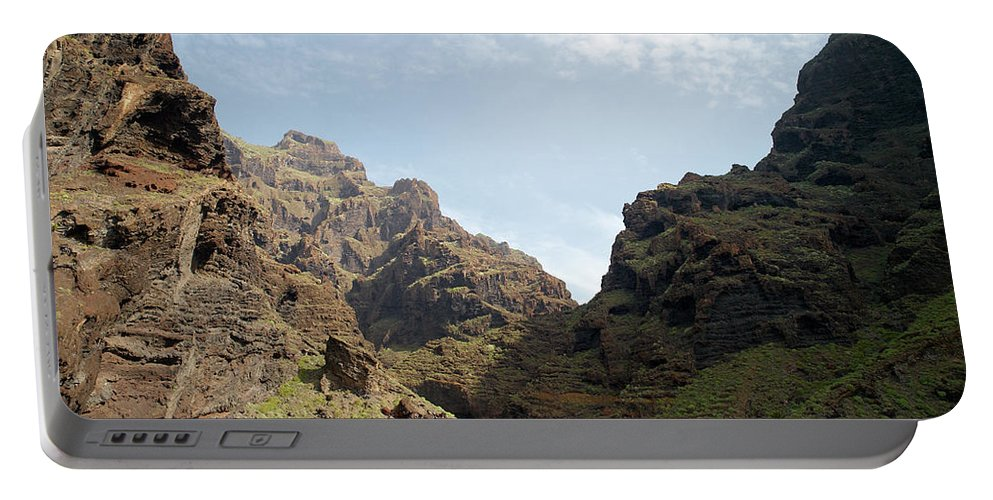 Valasretki Portable Battery Charger featuring the photograph Masca Valley Entrance 2 by Jouko Lehto