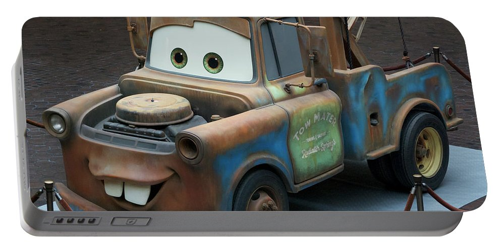 Mater Portable Battery Charger featuring the photograph Mater MP by Thomas Woolworth