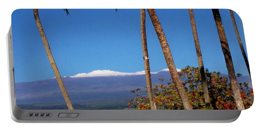 Hawaii Portable Battery Charger featuring the photograph Mauna Kea by Dina Holland