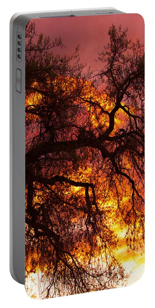 Sunset Portable Battery Charger featuring the photograph May One Sunset by James BO Insogna