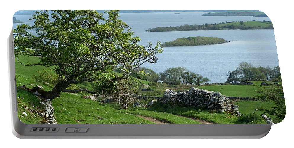 Ireland Portable Battery Charger featuring the photograph May The Road Rise To Meet You by Teresa Mucha
