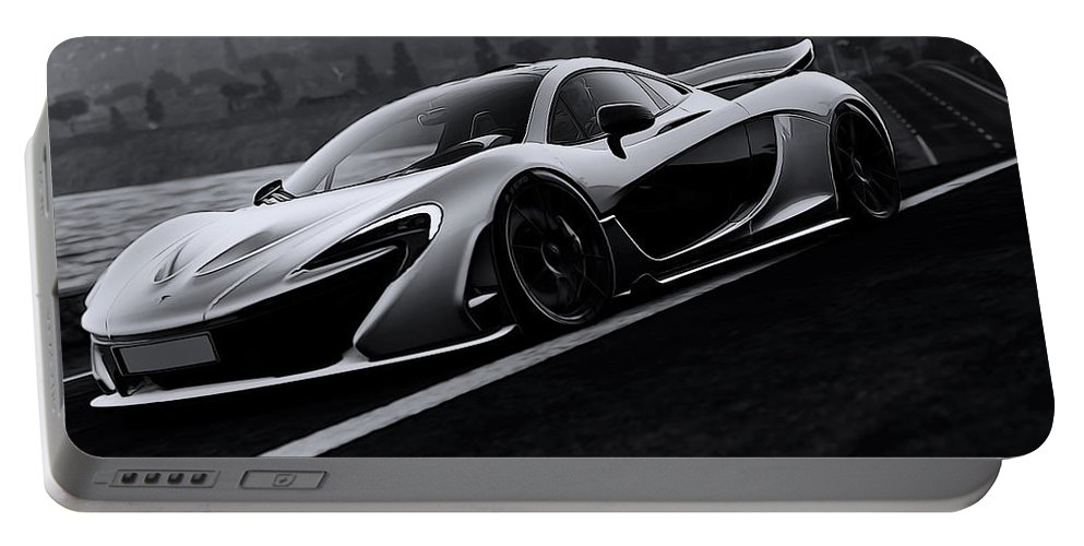 Mclaren Portable Battery Charger featuring the photograph Mclaren 720s by Andrea Mazzocchetti
