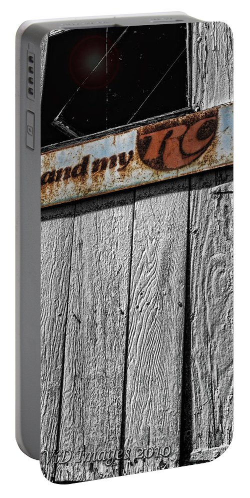 Vintage Portable Battery Charger featuring the photograph Me And My Rc by Kristie Bonnewell