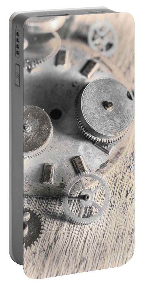 Machine Portable Battery Charger featuring the photograph Mechanical Art by Jorgo Photography - Wall Art Gallery