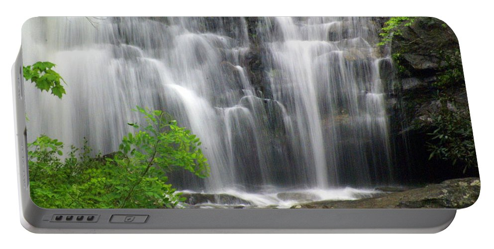 Meigs Falls Portable Battery Charger featuring the photograph Meigs Falls 2 by Marty Koch