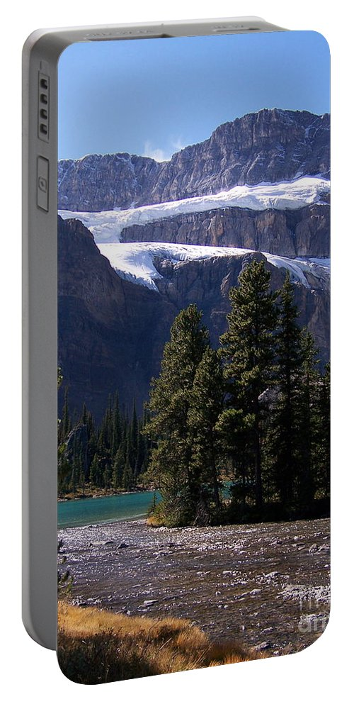 Meltwater Portable Battery Charger featuring the photograph Meltwater by Greg Hammond