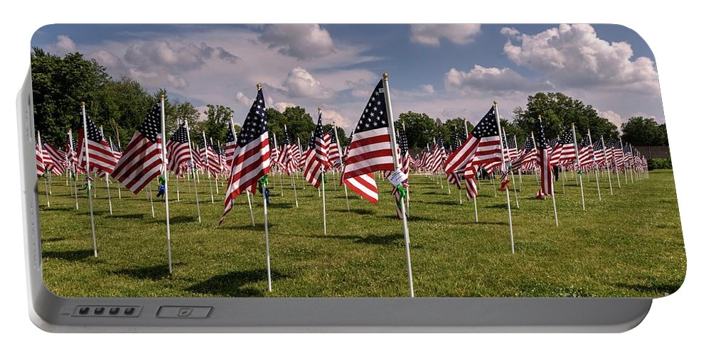 Memorial Day Portable Battery Charger featuring the photograph Memorial Day 2017 by Paul Lindner