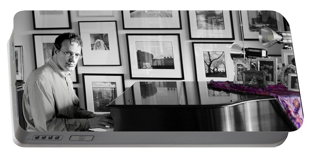 Piano Playing Portable Battery Charger featuring the photograph Mephistos Waltz by Madeline Ellis