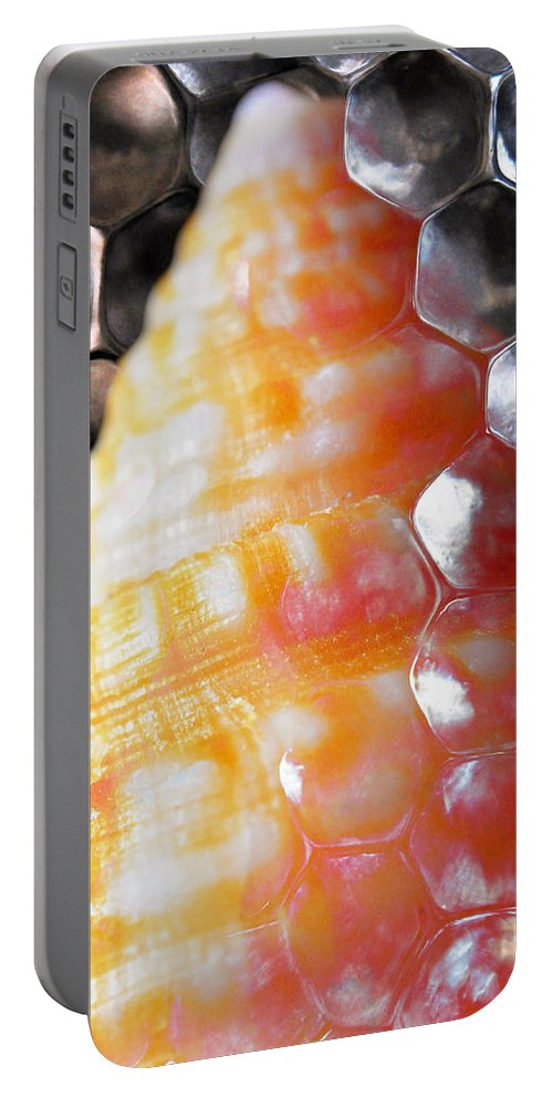 Skiphunt Portable Battery Charger featuring the photograph Merge 2 by Skip Hunt