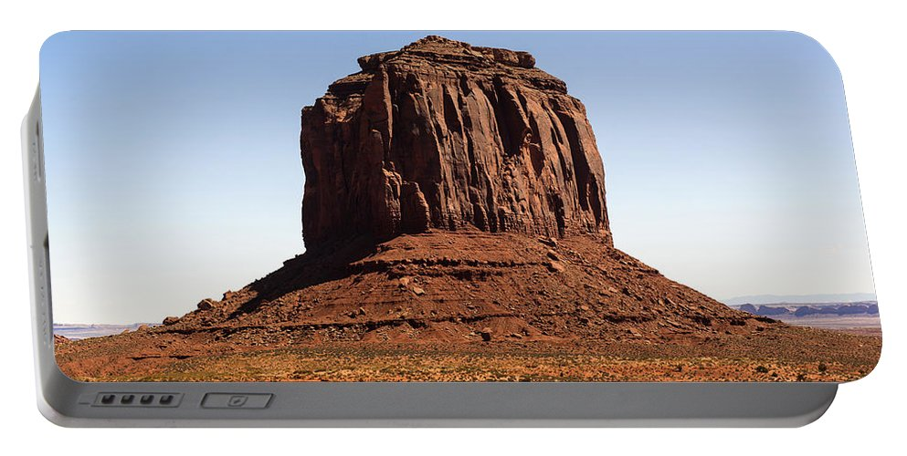 Merrick Butte Portable Battery Charger featuring the photograph Merrick Butte by Yefim Bam