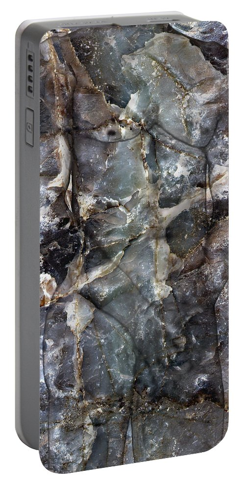Nudes Portable Battery Charger featuring the photograph Metamorphosis Male by Kurt Van Wagner