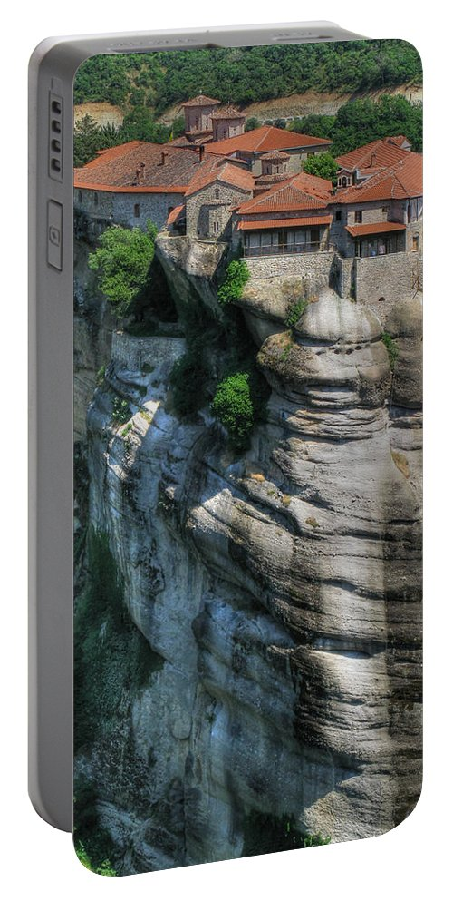 Meteora Portable Battery Charger featuring the photograph Meteora by Doug Matthews