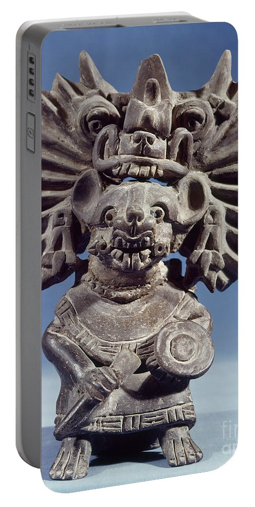 100 Portable Battery Charger featuring the photograph Mexico: Vampire Goddess by Granger