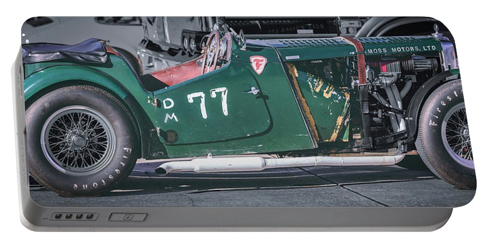Mg Portable Battery Charger featuring the photograph Mg-tc Supercharged Side View by David Natho