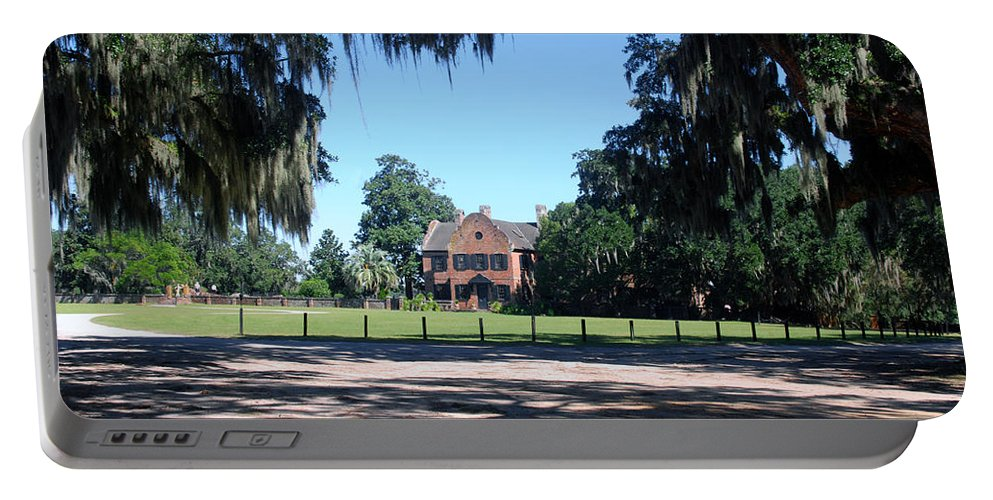Photography Portable Battery Charger featuring the photograph Middleton Plantation Charleston Sc by Susanne Van Hulst