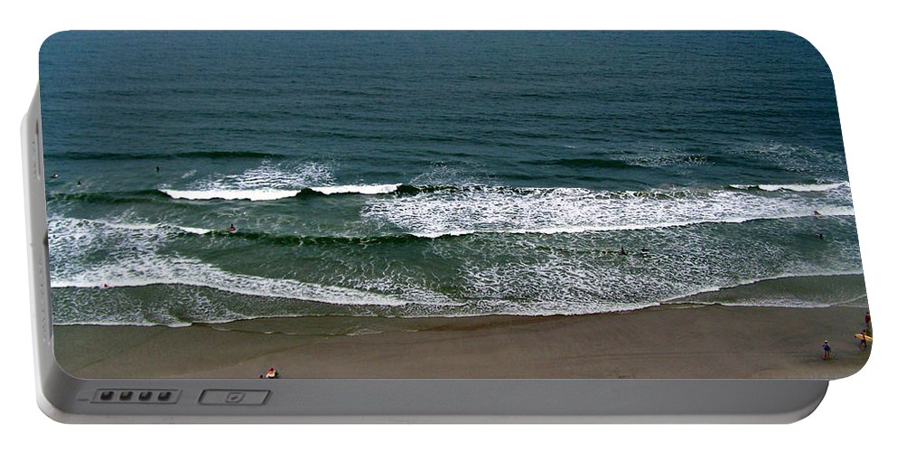 Ocean View Portable Battery Charger featuring the photograph Mighty Ocean Aerial View by Patricia Taylor