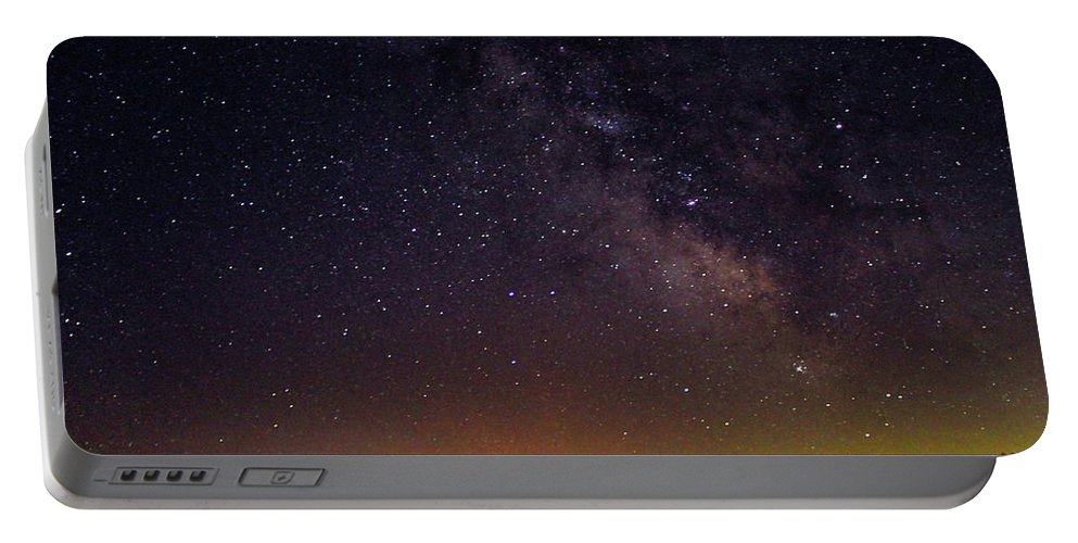 Stars Portable Battery Charger featuring the photograph Milky Way, Moultonborough, Nh by Richard Griffis