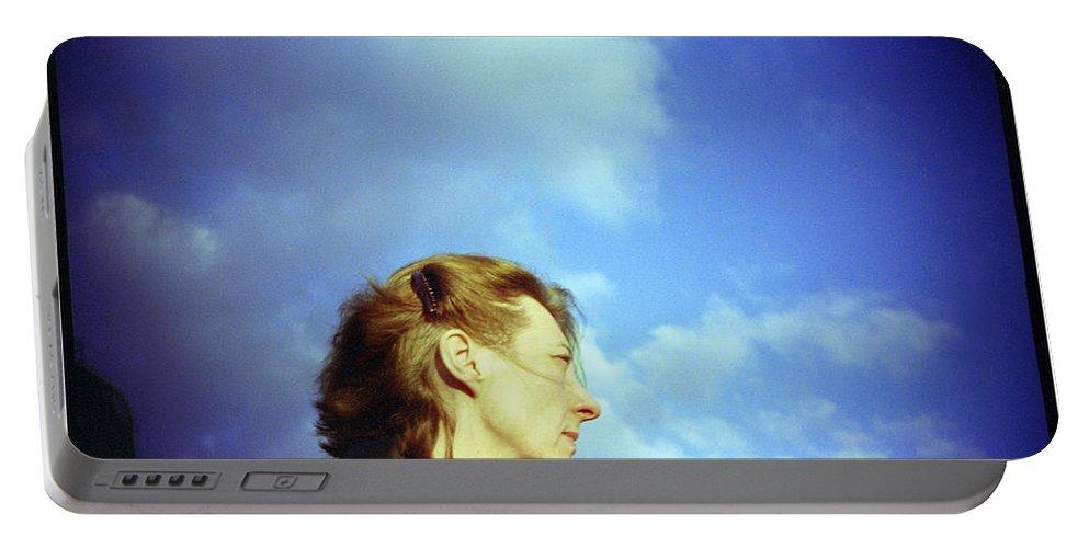 England Portable Battery Charger featuring the photograph Millenium Bridge Iv by Rafa Rivas