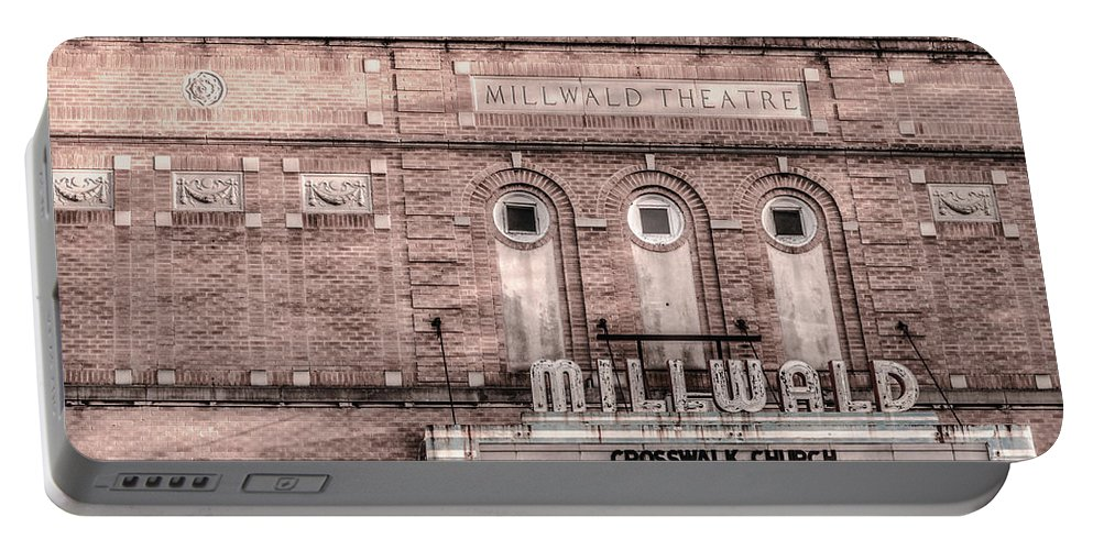 Architecture Portable Battery Charger featuring the photograph Millwald by Jim Love
