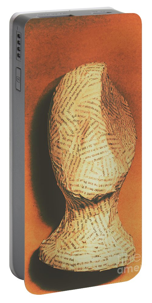 Philosophy Portable Battery Charger featuring the photograph Mind Of A Philosopher by Jorgo Photography - Wall Art Gallery